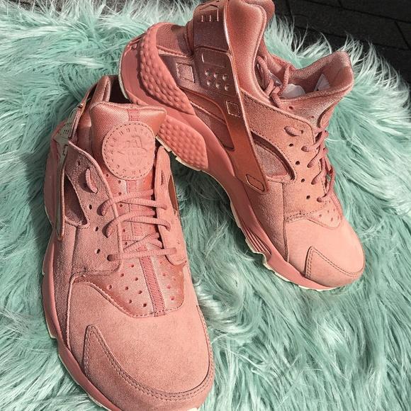 Nike Air Huarache Run Premium Rust Pink